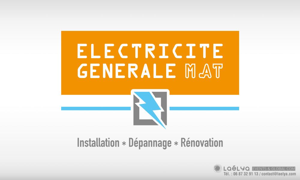 creation logo electricite